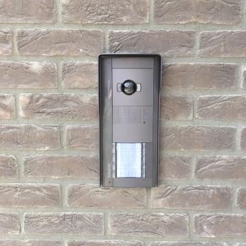 Installation à Tournai d'un vidéophone pour 8 appartements.